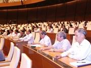 Plusieurs lois adoptées et discutées à l'Assemblée nationale