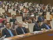 Clôture de la 10e session de l'AN de la 13e législature