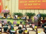 Ouverture de la 14e session du Conseil populaire de Hanoi