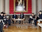 Le PM Nguyen Tan Dung rencontre des dirigeants belges