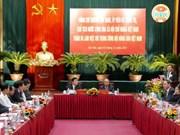 Le président Truong Tân Sang travaille avec l'Association des agriculteurs vietnamiens