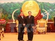 Un dirigeant vietnamien participe à la célébration de la Fête nationale au Laos