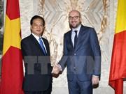 La visite du PM en Belgique et en UE couverte par la presse européenne