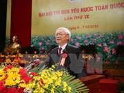 Le leader du PCV définit des orientations pour le mouvement d'émulation patriotique