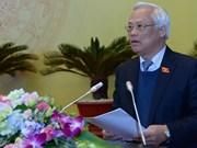 Séminaire sur les 70 ans de l'Assemblée nationale du Vietnam
