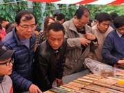 Des milliers de visiteurs à la Foire des anciens livres