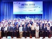 Conférence internationale de l'AETA 2015 à Ho Chi Minh-Ville