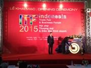 Ouverture de la Foire commerciale de l'Indonésie à Hanoi