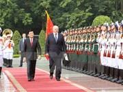 Entretien entre les présidents vietnamien et biélorusse