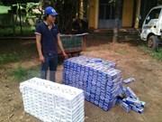 Tay Ninh : 9.000 paquets de cigarettes de contrebande ont été saisis