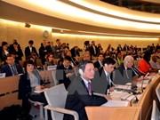 Droits de l'Homme : le Vietnam s'active au sein du CDH