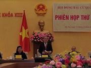 Le Conseil électoral national tient sa première réunion