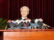 Première journée du 13e Plénum du Comité central du Parti