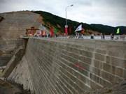 Inauguration d'une centrale hydroélectrique de 150 MW