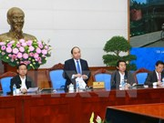 Réunion sur la réalisation du bilan des 10 ans d'application de la loi anti-corruption