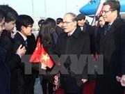Le président Nguyen Sinh Hung entame sa visite officielle d'amitié en Chine