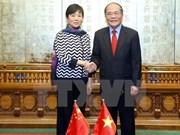 Renforcement de l'amitié Vietnam-Chine
