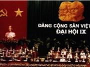 Le 9e Congrès national du Parti Communiste du Vietnam