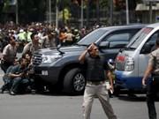 Indonésie : au moins sept morts dans des attaques terroristes à Jakarta