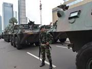 Des assaillants identifiés, trois suspects interpelés après les attentats de Jakarta