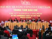Conférence de presse sur le 12e Congrès national du Parti