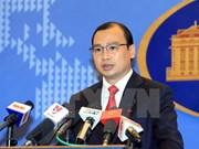 Le Vietnam demande à la Chine de retirer sa plate-forme d'une zone non encore délimitée