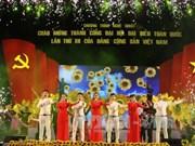 Gala saluant le succès du 12e Congrès national du PCV