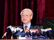 Le Comité central du PCV se présente, le chef du PCV s'exprime