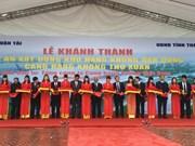 Inauguration de la zone d'aviation civile au sein de l'aéroport de Tho Xuan