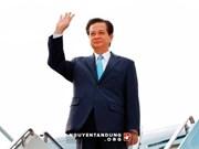 Nguyen Tan Dung part pour participer au Sommet ASEAN-Etats-Unis 2016