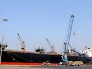 Un navire du Panama au port de Vung Ang