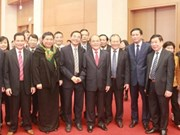 Nguyên Sinh Hùng présente ses vœux du Nouvel An aux organes de l'AN