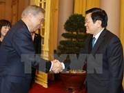 Le président Truong Tan Sang reçoit la délégation de la préfecture japonaise de Gunma