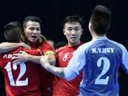 La FIFA se félicite de la performance de l'équipe de futsal du Vietnam