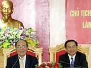 Des dirigeants se rendent à Hà Tinh