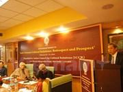 Séminaire international sur les relations culturelles Inde- Vietnam à New Delhi