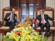 Le gouverneur de la Banque d'État reçoit le président de la BM