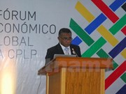 Forum économique mondial de la Communauté lusophone