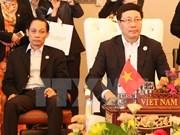 Les ministres des Affaires étrangères de l'ASEAN se réunissent à Vientiane
