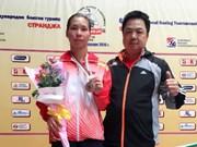 Tournoi de boxe Strandja : médaille d'argent pour le Vietnam
