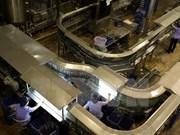 Février : l'indice de production industrielle en hausse