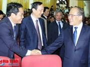 Le président de l'AN rencontre l'électorat de Hà Tinh