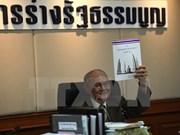 La Thaïlande publie le projet de constitution
