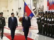 Le Cambodge et la Russie boostent leur coopération