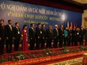 Conférence des présidents des cours suprêmes de l'ASEAN à Ho Chi Minh-Ville