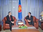 L'ambassadeur japonais à l'ASEAN s'engage à booster les relations bilatérales