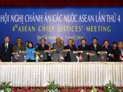 Quatrième réunion des chefs de la Justice de l'ASEAN à HCM-Ville