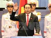 Le nouveau président du Vietnam prête serment