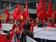 Manifestation à Busan contre les actes chinois illégaux en Mer Orientale