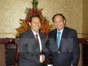 HCM-Ville renforcent ses relations commerciales avec la province laotienne